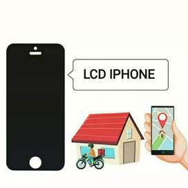 GANTI LCD TOUCHSCREEN IPHONE 7 HOME SERVICE