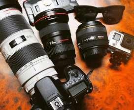 Cari kamera dslr atau mirrorles dan drone (jual beli kamera second)