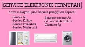 Service Mesin cuci Kulkas Frezerbox Ac Showcase - Bongkar pasang Ac