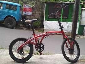 Sepeda lipat seli 20
