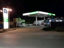 Runing Petrol pump for sale.