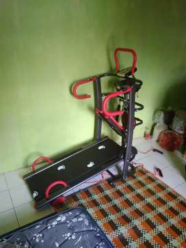 Treadmill Manual 6 Fungsi // Barcod YT 158901