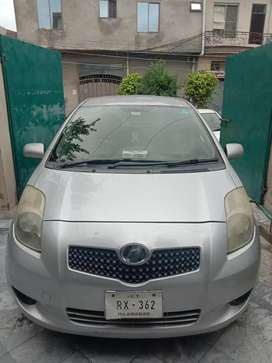 Vitz Car available for Rent with driver