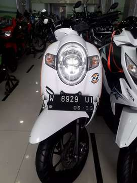 New Honda Scoopy fi 110 cc thn 2018 kredit/cash/TT