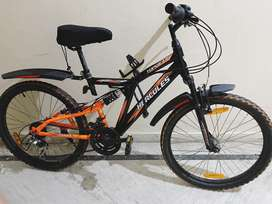 Hercules top gear bicycle one year old