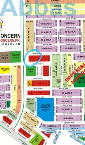 Paragon city 8 marla commercial barki road near lahore airport