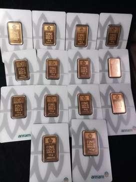 BuyBack Jual Beli Emas Antam Batangan Cetakan Lama dan Baru Press