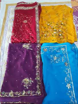 Work sarees /party wear