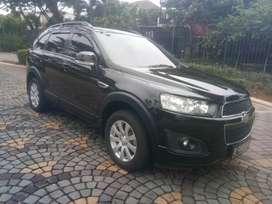 Chevrolet Captiva Diesel At Black 2015