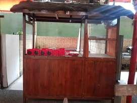 Dijual gerobak, bahan kayu palet import