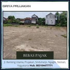Promo Tanah Matang Barat Jl Kaliurang SHM, Free Bea Notaris