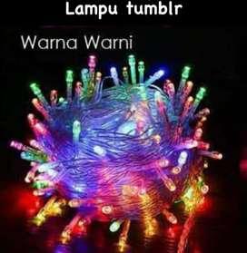 Ready lampu tumbrl warna warni 25000