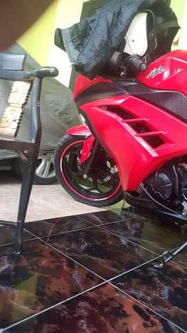 Jual cpt kawasaki ninja 250cc warna merah
