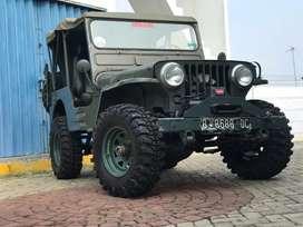 Jeep Willys Tahun 1952 Istimewa SoftTop