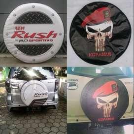 Cover/Sarung Ban Taruna Rush CRV Panther DLL tutup ban serep#timun  Ba