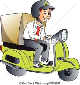 Delivery Boy / Delivery Executive (Fresher)-Delhi