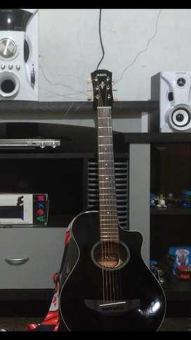 Gitar akustik elektrik yamaha  3/4 APX T2 original