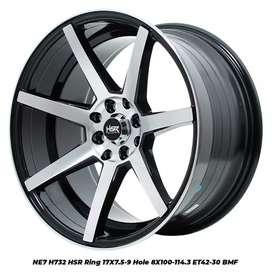 Ready Velg Terbaru Hsr Wheel Tpye NE7 Ring 17