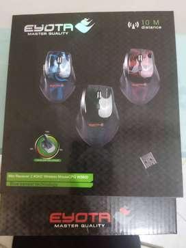EYOTA Original Mouse Wireless 2.4 Ghz Master Quality Hijau 1600DPI