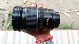 Lensa canon EFS 17-55mm f2.8 IS USM