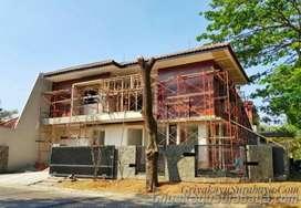 Dinding kayu/kanopi kayu/tangga kayu/pagar kayu/decking kayu/kayu ulin