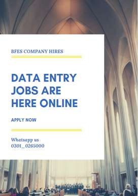 We make an offer for Data Entry Jobs Opportunity earn cash from home