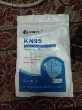 Kn95 with filter. Per pcs Rs.30