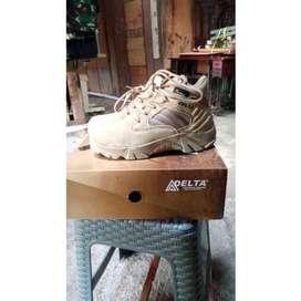 Sepatu Delta Boots Safety Gurun 6inc - Cordura Tactical Militer Hiking