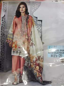 #SAPPHIRE Marina with wool shawl winter collection 2020