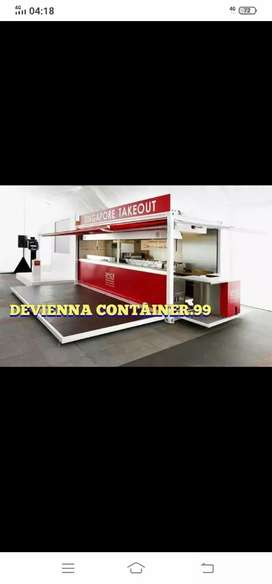 # booth Container cafe container kedai kopi container restoran