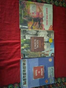 Books of class 8th