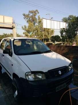 Alto car good condition and alloy wheel
