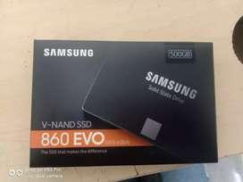 Samsung Harddisk SSD 500 GB (New Seal Pack)