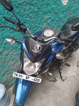 2017 December Honda hornet bike for sale