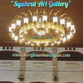 Lampu Kubah Masjid - Lampu Mushola - Lampu Hias Bagus -Lampu Nabawi 3m