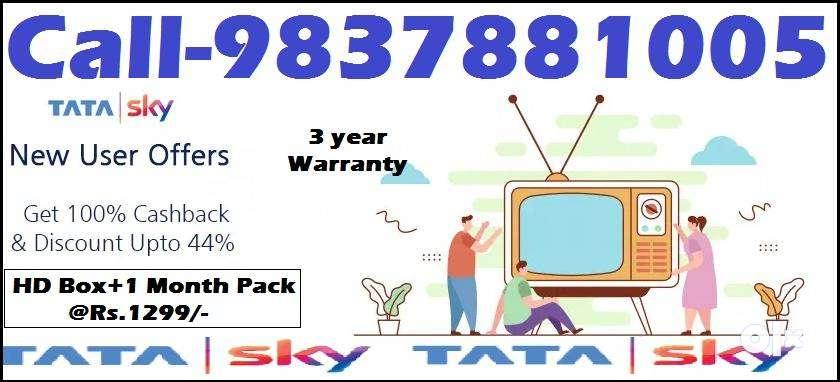 Super Sale Offer- Tata sky DTH -Airtel Dish tv D2H Tatasky - All India 0