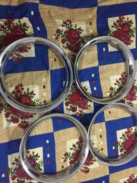 cultus 13 inch crome rings for sale