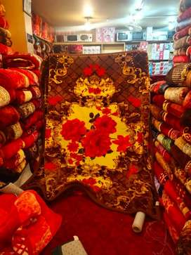 We sell new blanket in all variety