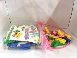mainan lasy block medium