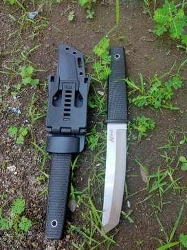 Pisau sangkur kopel dinas TNI brimob pisau berburu survival outdoor