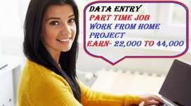 DATA ENTRY PART TIME TYPING JOB