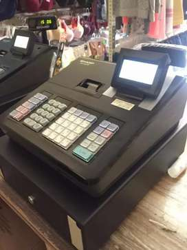 Mesin kasir cash register sharp xe207