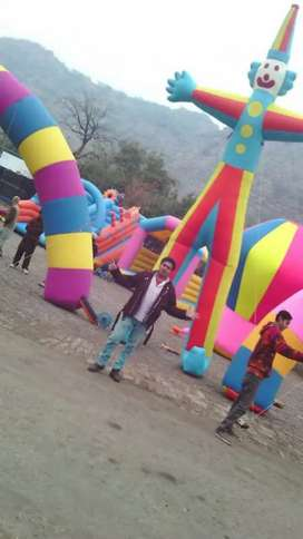Baloon decoration jumping castel