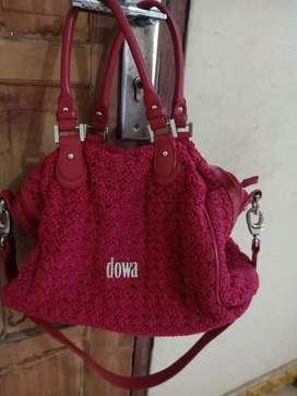 Preloved tas dowa merah