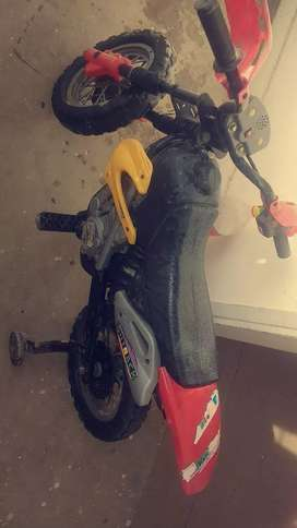 I have a small bettery cahrgeable bike for kids