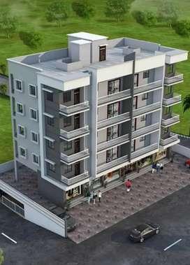 2&3BHK Flats at Bapat Nagar , near pant hospital,  Nagpur Road .