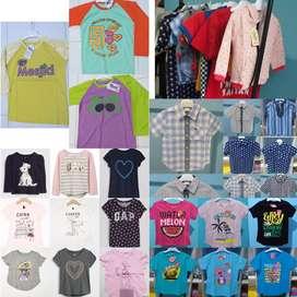 BARU Pakaian Anak Kaos Kemeja Lelangan Mall