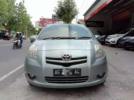 TOYOTA YARIS 1.5 E 2008 MANUAL.Plat AG Mulus.bisa tt brio jazz swift