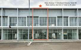 Disewakan Ruko Strategis di Main Boulevard Citraland Cibubur
