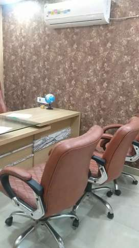 One cabin six sitting fully furnished Office in indrapuram ghaziabad